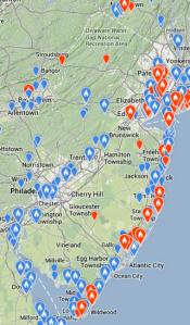 Snowy Owls in NJ 2013-14