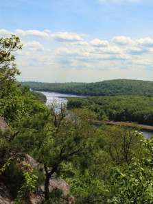 Split Rock Reservoir from Indian Cliffs, Rockaway Twp., NJ, June 21, 2014 (photo by Jonathan Klizas)