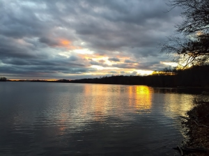 Boonton Reservoir, NJ, Dec. 17, 2014 (photo by Jonathan Klizas)